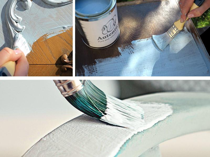 Dlaczego warto wybrać farbę kredową do malowania mebli Autentico