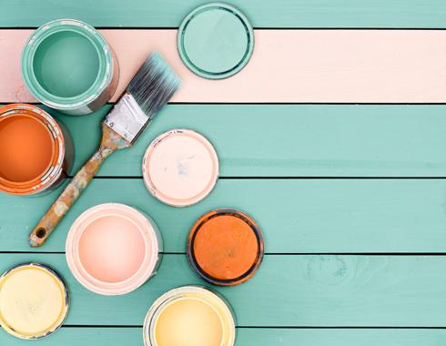 Farbą kredowe Autentico można malować boazerię